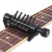プロ 汎用アクセサリ カポ 高級 ギター アコースティックギター エレキギター 新しいインストゥルメント プラスチック 楽器アクセサリー ブラック