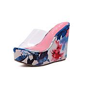 Sandale Proljeće Ljeto Jesen Udobne cipele silika gel Formalne prilike Ležeran Puna potpetica Plava Narančasta