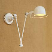 ac característica pintura 220-240 40 e14 moderna contemporánea rústico país / / casa de campo para el bulbo brazo oscilante incluye