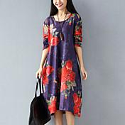 本当に新しいサンディング厚いストレッチベルベット印刷緩やかな大きなヤードボトミングドレスを作る