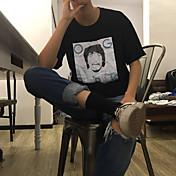 サインエジソン4PK半袖半袖Tシャツの印刷ダーシャ男性と女性の潮