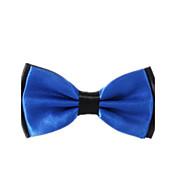 Hombre Todas las Temporadas Fiesta Casual Poliéster Cravat y Ascot,Un Color