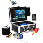 """Mountainone 30m 7 """"カラーデジタル液晶1000tvl HD DVDレコーダー防水水中釣りカメラ"""