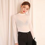 Camisa de punto universal de manga larga con un punto blanco y negro