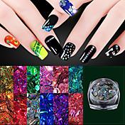 1PCS Nail Art Dekorace drahokamu Pearls make-up Kosmetické Nail Art design