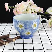 De colores Artículos para Bebida, 330 ml Reutilizable Porcelaine Té Marrón Café Tazas de Té Tazas de Café