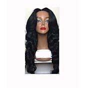 vigin hairフルレースウィッグperuvianフルレース人間の髪のかつらgluelessボディの波人間の髪のレースのフロントウィッグ黒の女性のための