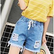 レディース ストリートファッション ハイライズ ルーズ スリム strenchy ショーツ パンツ ゼブラプリント