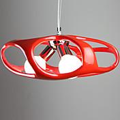 Lámparas Colgantes ,  Moderno / Contemporáneo Pintura Característica for Los diseñadores ResinaSala de estar Dormitorio Habitación de