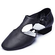 Zapatos de baile-No Personalizables-Mujer-Ballet-Tacón Plano-Cuero-