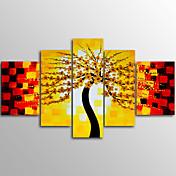 キャンバスプリント 抽象画 Modern,5枚 キャンバス 横長 版画 壁の装飾 For ホームデコレーション