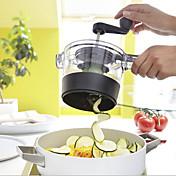 1個 ポテト ニンジン エシャロット キュウリ ニンニク ショウガ色 マンゴー ピーラー&おろし金 カッター&スライサー For フルーツのための 野菜のための 調理器具のための プラスチック 多機能 クリエイティブキッチンガジェット