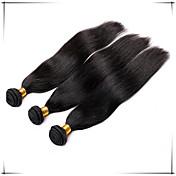 人間の髪編む ブラジリアンヘア ストレート 6ヶ月 1個 ヘア織り