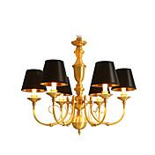 Lámparas Araña ,  Tradicional/Clásico Campestre Latón Característica for LED Mini Estilo MetalSala de estar Dormitorio Comedor Habitación
