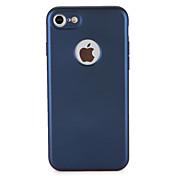 Para Carcasa Funda Antipolvo Cuerpo Entero Funda Color sólido Suave TPU para AppleiPhone 7 Plus iPhone 7 iPhone 6s Plus iPhone 6 Plus