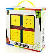 Cubo de rubik Cubo velocidad suave Liso Pegatina Anti-pop muelle ajustable Alivia el Estrés Cubos Mágicos Juguete Educativo