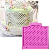 デコレーションツール レース フラワー ケーキのための カップケーキのための シリコーン DIY 誕生日 ホリデー バレンタイン・デー