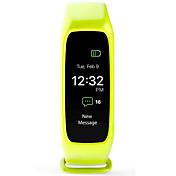 L30T スマートブレスレット iOS Android IP67 耐水 消費カロリー 歩数計 心拍計 目覚まし時計 タッチスクリーン APPコントロール ストップウォッチ 情報 加速度計 心拍計 フィンガーセンサー