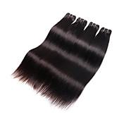 Tejidos Humanos Cabello Cabello Brasileño Recto los tejidos de pelo