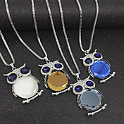 Joyería básica del cromo de los collares pendientes de las mujeres para la oficina ocasional del dailywear de la oficina / de la
