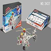 メタルパズル 大人も遊べるおもちゃ おもちゃ ギフトのため ブロックおもちゃ ヘリコプター 仕上げ鉄 PP(ポリプロピレン) 6歳の上 8~13歳 おもちゃ