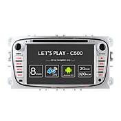 所有権c500オクタコア32GBロム2GBラムアンドロイド6.0GPSナビ用ラジオfordフォーカスmondeo s-maxギャラクシーtourneo接続トランジットサポート4g lte