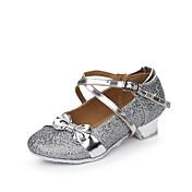 Mujer Zapatos de danza (niños) Brillantina Lentejuelas Sintético Purpurina Planos Sandalias Zapatillas InteriorLentejuelas Hebilla