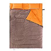Bolsa de dormir Saco Rectangular Doble 5 Algodón VacíoX145 Camping Mantiene abrigado Portátil Naturehike
