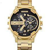 WEIDE Hombre Reloj Casual Japonés Cuarzo / Acero Inoxidable Banda Casual Dorado