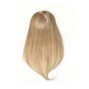 uniwigsレミー人間の髪モノヘアピースのトッパーは、髪の瞬間に脱毛のために直ちにブロンドの色を追加
