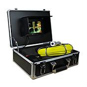"""12と、内視鏡のパイプライン検査システム7"""" 30メートルのドレイン下水道の防水カメラはLEDライト"""