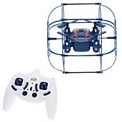 Dron 370 4 Canales 6 Ejes Iluminación LED Modo De Control Directo Vuelo Invertido De 360 Grados Quadcopter RC Mando A Distancia Cable USB