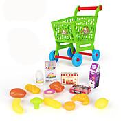 Compras de comestibles Juguetes Plásticos Niños Chica