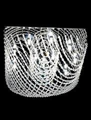 12灯付きの現代的な水晶chanderlier
