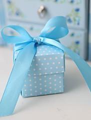 blue polka dot prospěch box (sada 12)