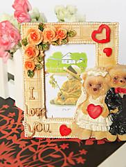 medvěd nevěsta a ženich fotorámeček