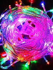 svatební výzdoba 80-light barevné LED dekorace string (10 m, 220 V)