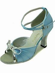 koženkové / satén horní taneční boty taneční sál latin boty pro ženy více barev