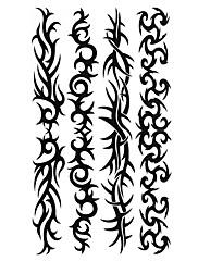 5個の花リング防水一時的な入れ墨