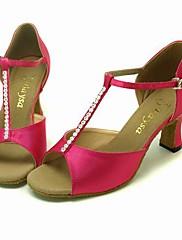 satén horní taneční boty taneční sál latin boty pro ženy více barev