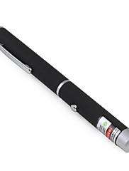 pen oblik Astronomija 5mW 532nm zeleni laser pointer s baterijom (2xaaa)