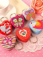 Dárky pro novorozeně / Narozeniny Party laskavosti a dárky-12Kusů v sadě Favor kontejner Cín Zahradní motiv / Klasický motiv Tvar srdce