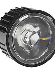 20mm 30 ° optičko staklo objektiv s okvirom za baterijske svjetiljke, spot svjetla