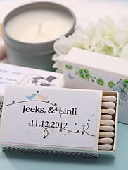 厚手カード用ペーパー 結婚式の装飾-12Piece /セット 春 夏 カスタマイズ可 マッチは含まれていません.