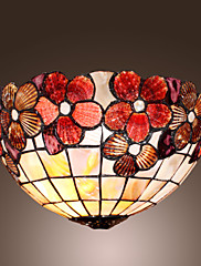 Tiffany stilu zid svjetlosti s cvjetnim uzorkom