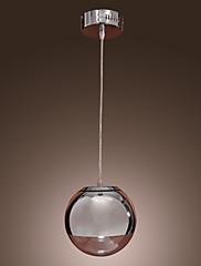 ペンダントライト ,  現代風 ボール形 クロム 特徴 for ミニスタイル メタル ダイニングルーム キッチン