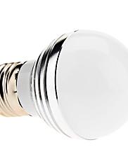 E27 3w 240-270lm 6000-6500K přírodní bílá světla vedl míč žárovka (85-265V)