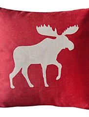 アンテロープコットン/リネン装飾枕カバー