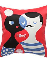 love story print dekorativní polštář