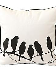 pastorační šepot tisk dekorativní polštář kryt
